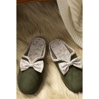 Women's Bow Slippers 1KTERL0326-8682116106672
