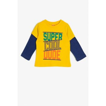 Yellow Boy Printed T-Shirt 0KMB18981OK