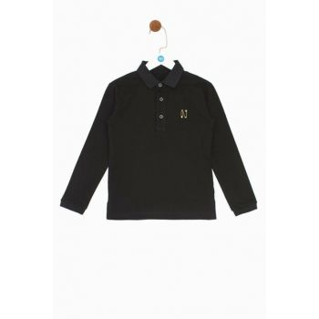Boys Black T-Shirt 19FW0NB3530