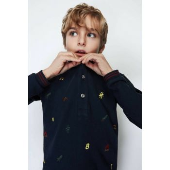 Boys' Navy Blue T-Shirt 19FW0NB3517 Click to enlarge