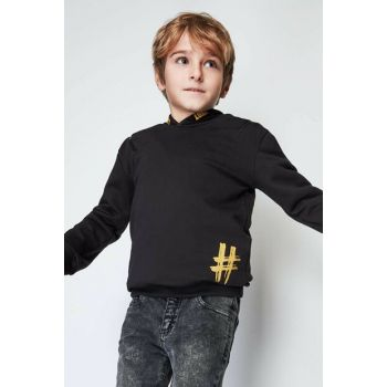 Boys Black T-Shirt 19FW0NB3525
