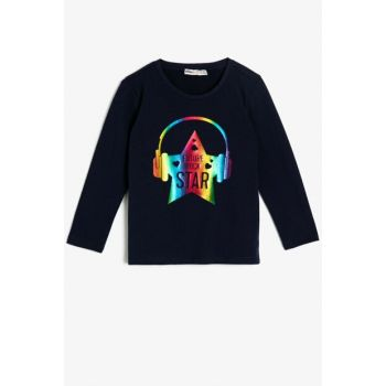 Navy Blue Girl T-Shirt 0KKG17728OK