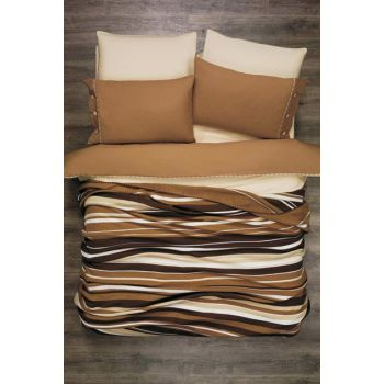 Double Knit Blanket CREAM COFFEE 3243546576879