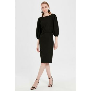 Women's New Black Dress 9WU476Z8