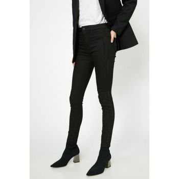 Women Black Trousers 0YAK43343MW