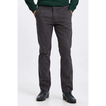 Men's Anthracite Trousers 8W1048Z8