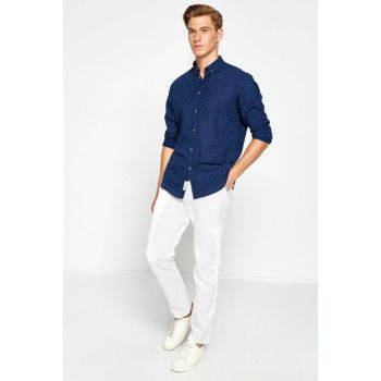 Men's White Trousers 8KAM42144KW