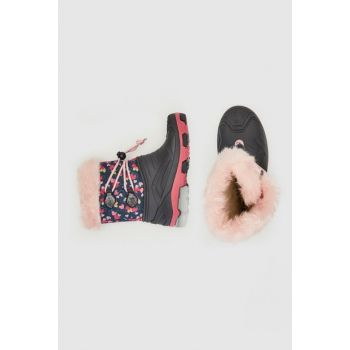 Girls' Black Huc Snow Boots 9WG126Z4