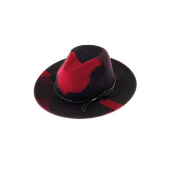 Patterned Trilby Hat 7185-1