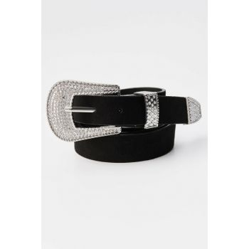 Women's Black Cowboy Belt 09873340