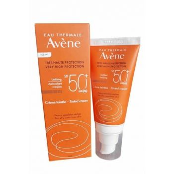 Sun Protection Cream - Very High Protection Tinted Cream Spf 50+ 50 ml 3282770100037