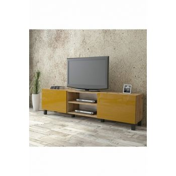 Aqua Tv Unit High Gloss 180cm 2 Cover Yellow AU4-A2B-YY 1286342 View larger image