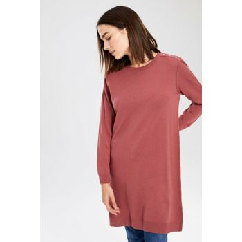 Women's Light Burgundy Tunic 9W8426Z8