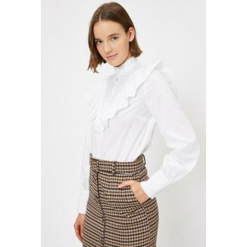 Women's White Firfir Shirt 0KAK68121PW