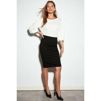 Women's New Black Skirt 9WG259Z8