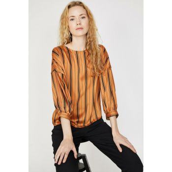 Women's Coffee Blouse 9KAK63222EW