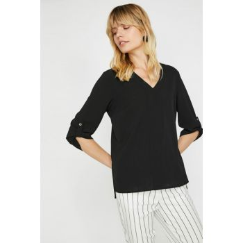 Women's Black Blouse 0KAK68042PW