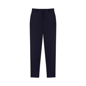 Women's Navy Blue Pants IW6190003099015