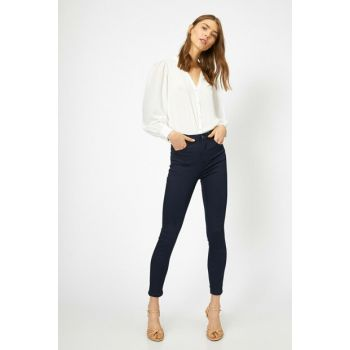 Women Blue Trousers 0YAK47641DD