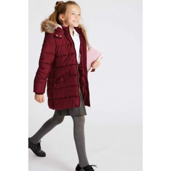 Purple Girls' Filled Coat T74002399J