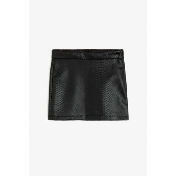 Black Girls' Skirt 0KKG73290MW