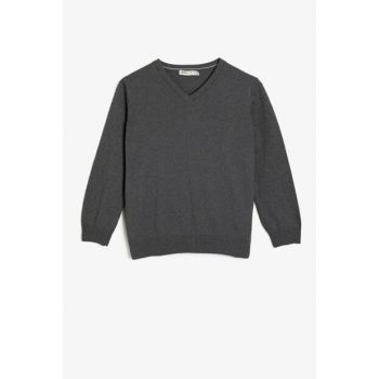 Gray Children Sweaters 0KKB96141OT