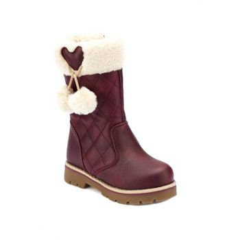 82.509618.P Bordeaux Girls' Boots 000000000100331630