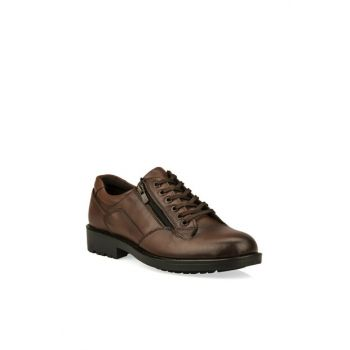 Genuine Leather Men Taba Casual Shoes 93415 599146