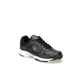 Black and White Men's Tennis Shoe KARON 9PR