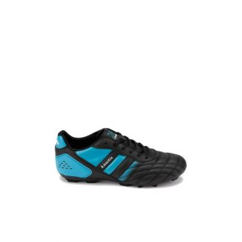 Black Blue Men's Football Field Shoes & Crampons VOLKY AG 9PR