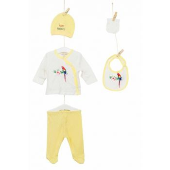 Yellow Baby Girl Hospital Outlet 5'Li Layette Set AZZ005219