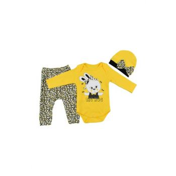 Baby Set with Beret 3 Pieces 10014743