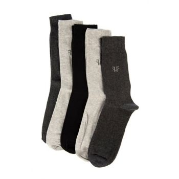 Multicolor Men 5 Pack Socks TMNAW20CO0015