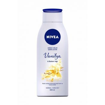 Pump Body Lotion with Vanilla & Almond Oil 400 ml 4005900448521