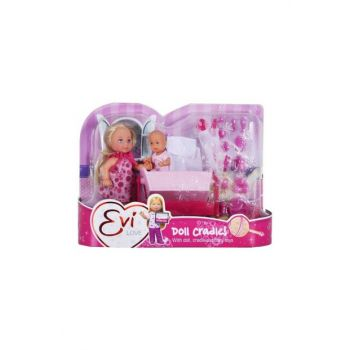House Baby With Crib - Pink T00736242-17659