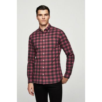 Men's Dark Red Shirt 13020565