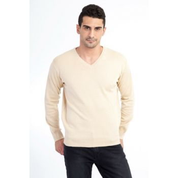 Men's Mink Sweater - 49271