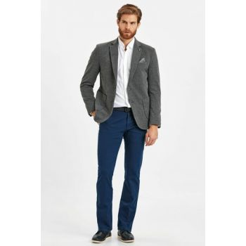 Men's Blue Trousers 9S1561Z8