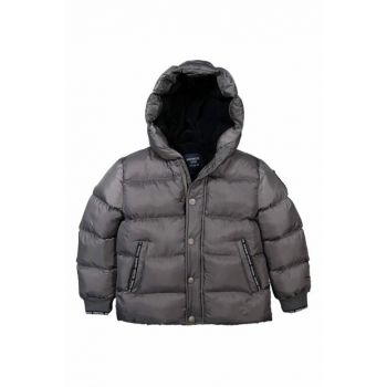 Boys' Coat Inflatable Gray 10-14 Years Old 18957 M18957GRI