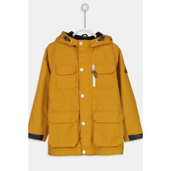 Yellow Boy Coat 8W0194Z4