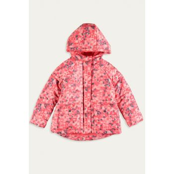 Girl Kids NEON ORANGE BASS M8N Coat 9W7339Z4