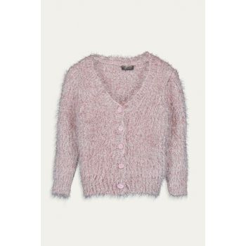 Girls' Pink Gat Cardigan 9WG014Z4