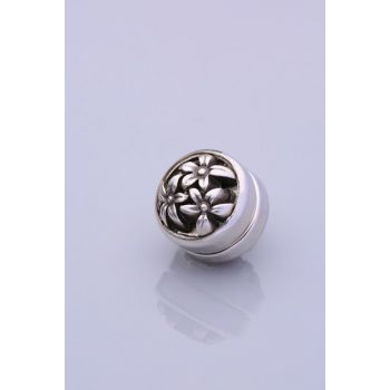 Silver Plated Scarf Magnet 06-0910-44-10-T