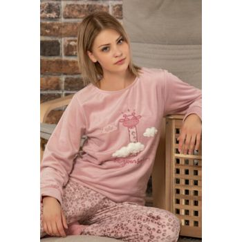 Women's Powder Softboa Welsoft Pajama Set 23702
