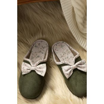 Women's Bow Slippers 1KTERL0326-8682116106689
