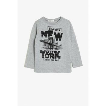 Gray Children's T-Shirt 0KKB16803OK