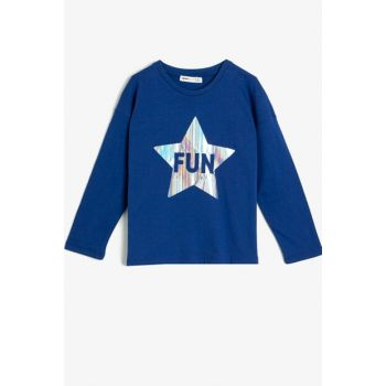 Saks Blue Girls T-Shirt 9KKG17483AK