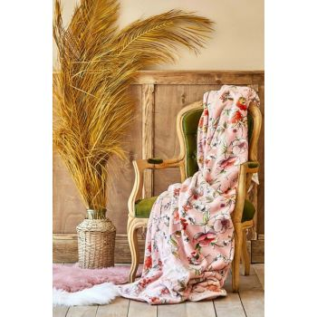 Elia Pink Double Softy Spanish Blanket 200.15.01.0070