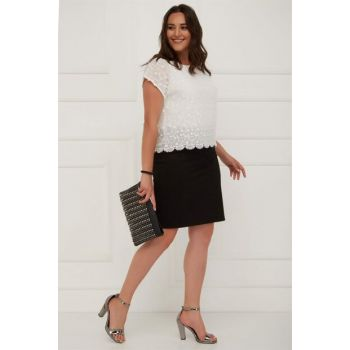 Women's Knitted Narrow Skirt-Bb PRA-236607-153715