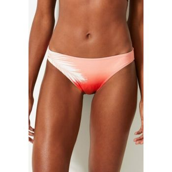 Women's Red Patterned Bikini T52006669P